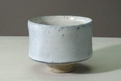 Chawan, Steinzeug, gefärbtes Porzellan, Glasur