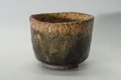 Yunomi, Steinzeug, Glasur