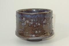 Yunomi, Steinzeug, Granitsplitter, Glasur
