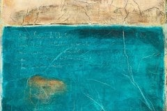 Meine teureste Ulrike (Serie Kleist) // 45x40, Acryl, Ölkreide auf Papier, 2019
