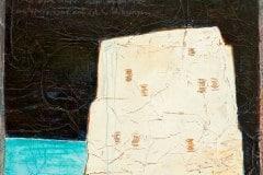 23.04.1807 Normandie (Serie Kleist) // 45x40, Acryl, Ölkreide auf Papier, 2019