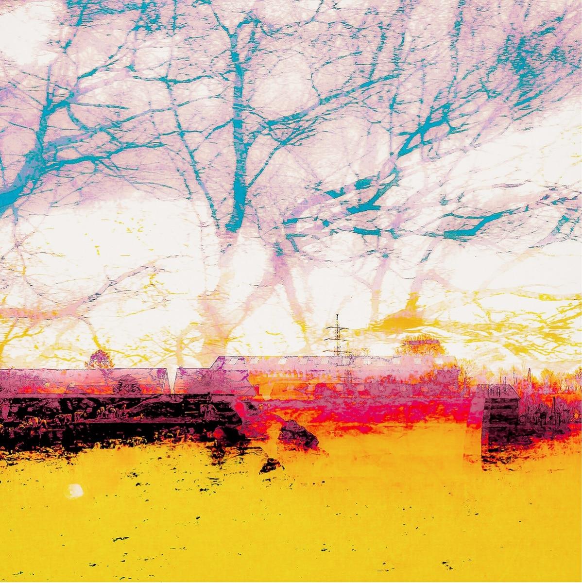 Unterwegs... No. 02 // 30 x30, Fineart Print auf Photorag, 2019