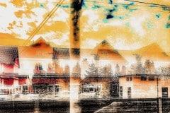 Unterwegs ... No. 04 // 40x40, Fineart Print auf Photorag, 2019