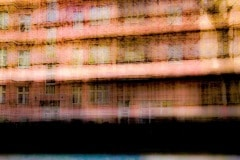 Unterwegs... (Erdbeerhaus )// 18 x18, Fineart Print auf Photorag, 2018