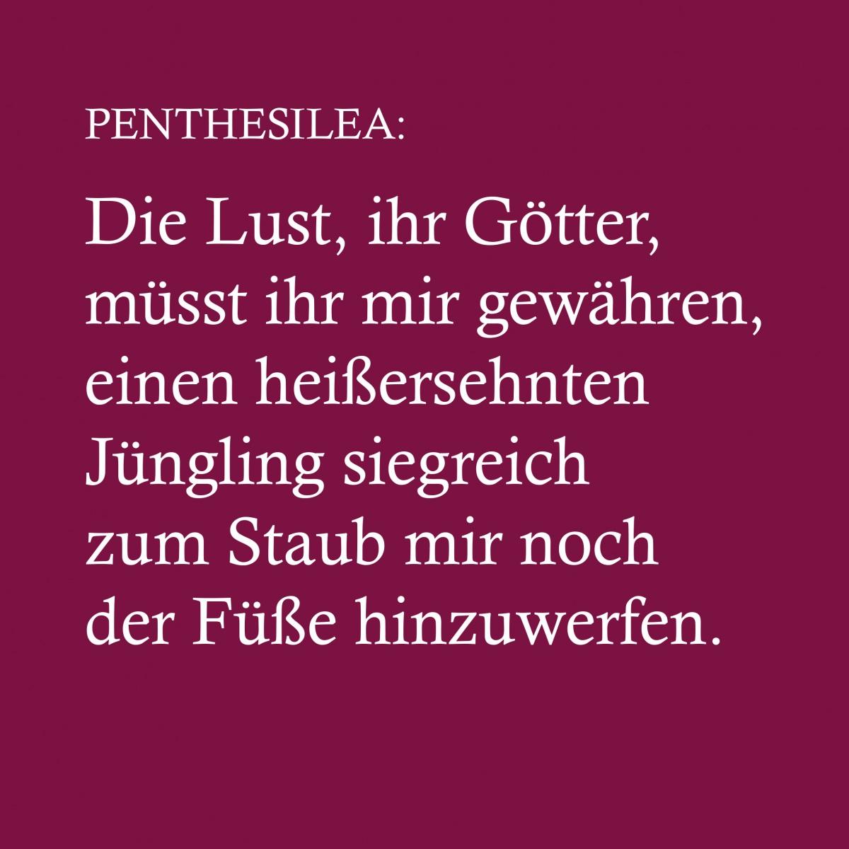 Projekt Penthesilea  Text Penthesilea // Laserdruck auf Karton, 20x20, 2020