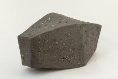 Schwarzer Granit //  Keramik, ca. 18 x 15 x 28 cm, 2017