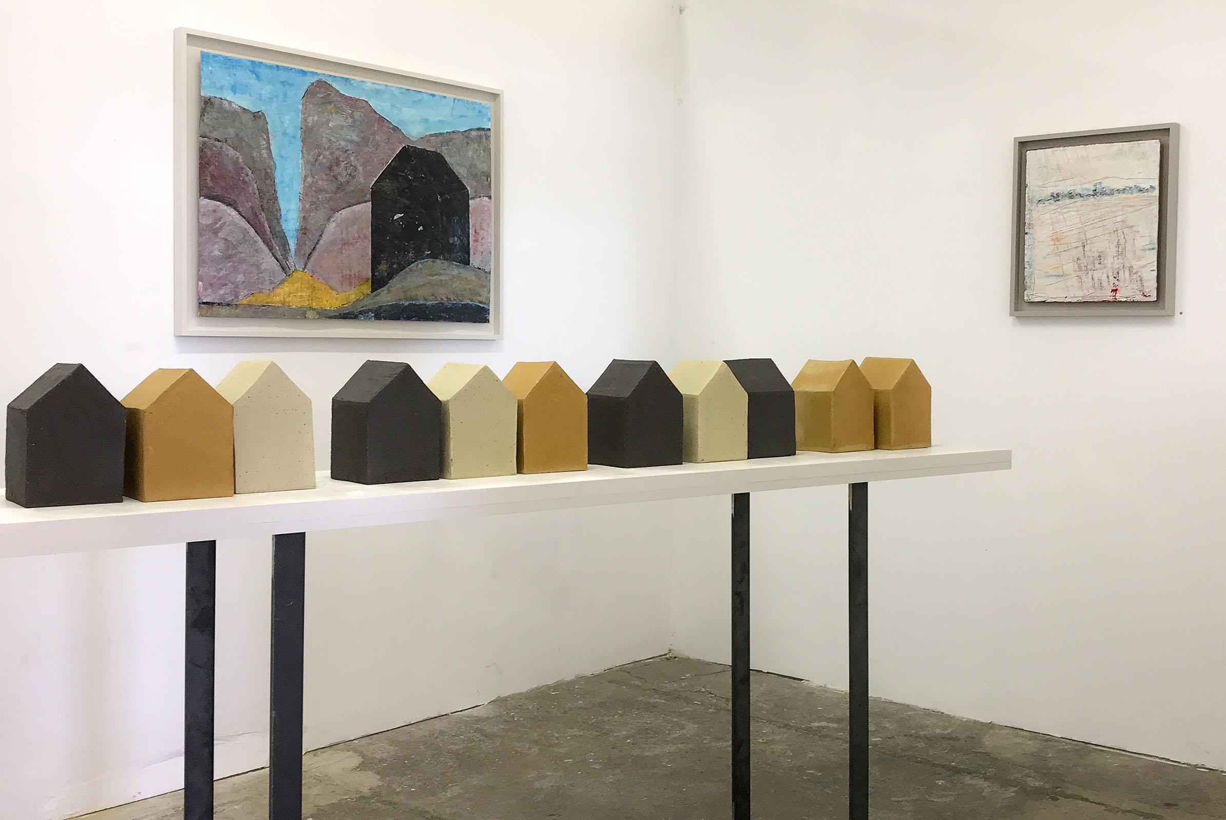 Ist es das wovon Du geträumt hast? – Installation kunstopfer – transformart Berlin – 2018